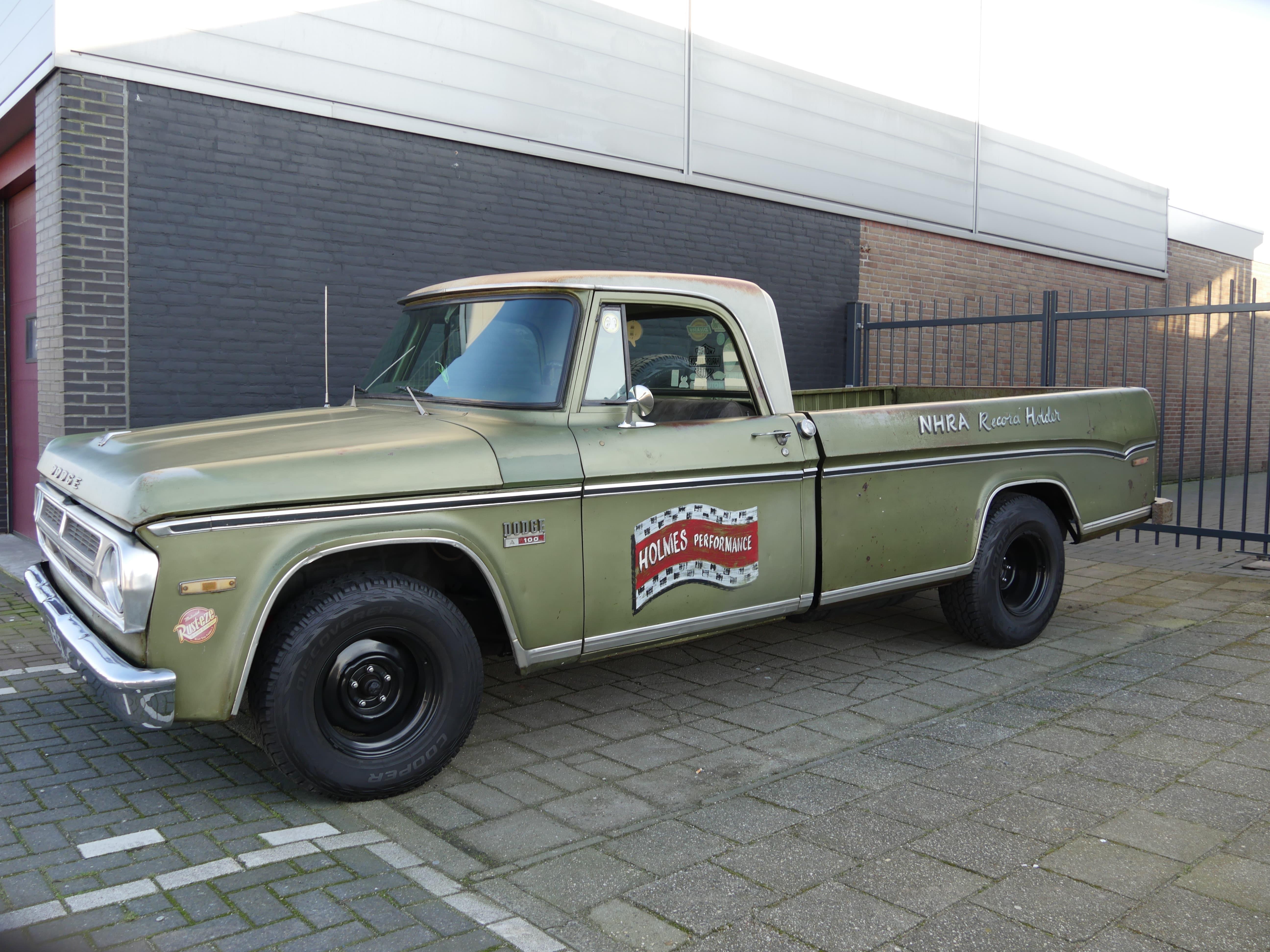 Auto stofferen - Custom autobekleding - Van Rembrandt Customs - Dodge C10 (5)