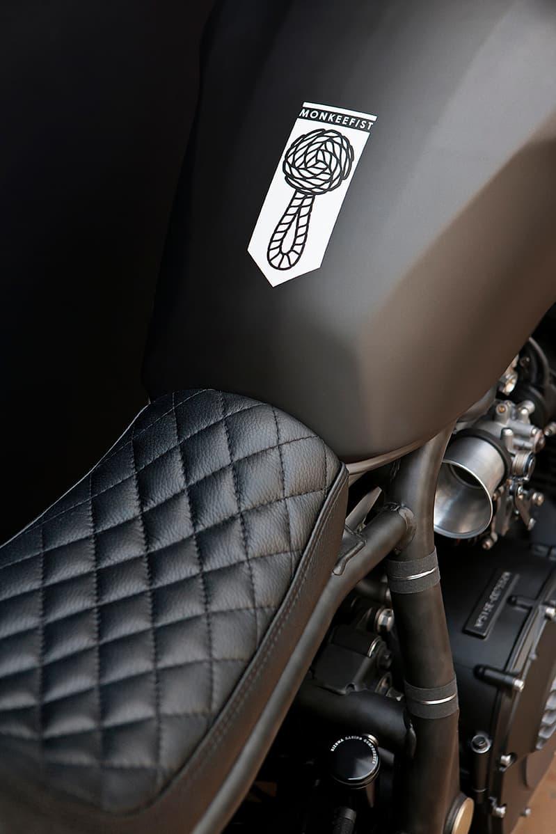 Motor stofferen - Custom motorbekleding - Van Rembrandt Customs (1)