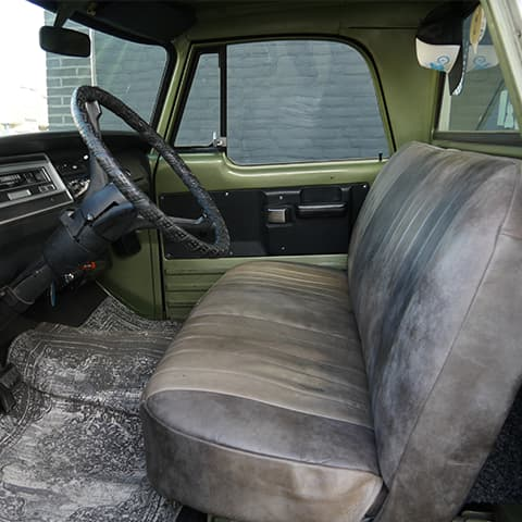 Auto stofferen - Custom autobekleding - Van Rembrandt Customs - Dodge C10